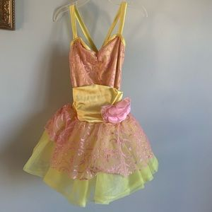 Weissman Costumes - 3/$15!! Weissman yellow pink Belle costume
